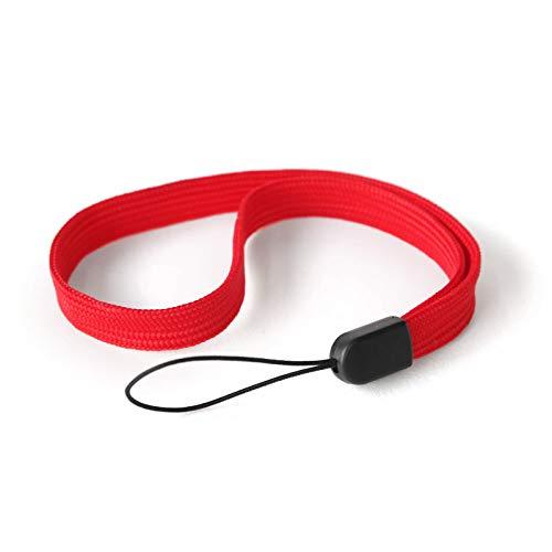 trage.band® Robustes Handgelenk-Trageband/Handschlaufe (5 St. rot)