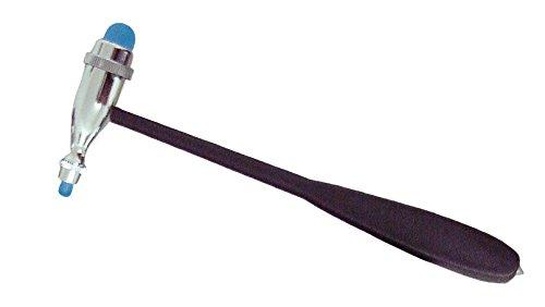 Reflexhammer nach Troemner, Perkussionshammer, Diagnostik der Reflexe von Muskel, Sehne und Haut