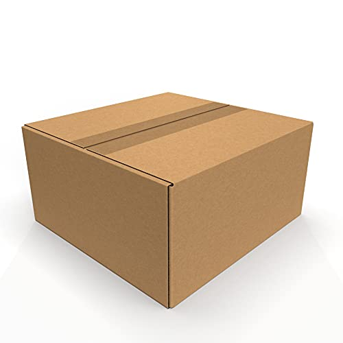 IMBALLAGGI 2000 - Scatoloni 22x21x11 cm - 1 Pezzo - Scatola di Cartone a Onda Singola - Imballaggi per Spedizione e Trasloco