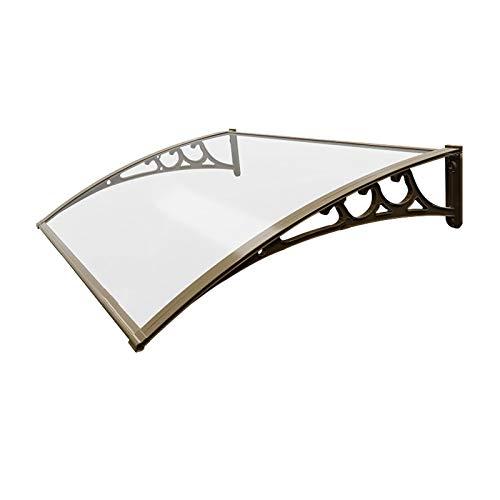 Marquesina Para de Sombra Silencioso, Toldo Para El Hogar Al Aire Libre de Aleación de Aluminio Para la Lluvia, Toldo de Bloque de Acero de Para Aire Acondicionado Marquesina Para ( Size : 80*80cm )