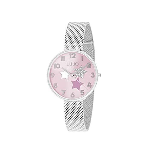 Liu Jo Luxury - Reloj de mujer Complicity con cápsulas de estrellas, color rosa