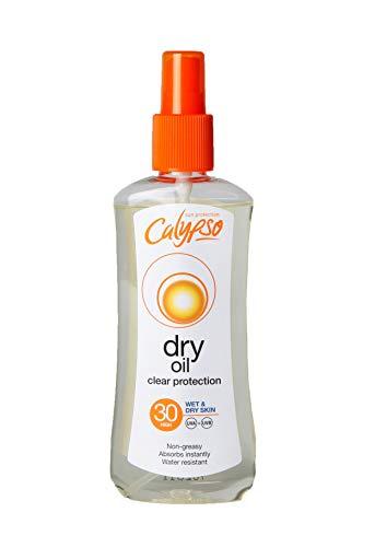 Calypso Trockenöl Sonnenschutz Spray LSF 30, 200 ml