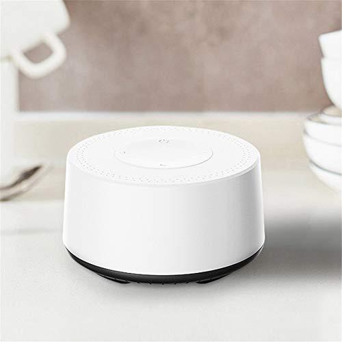 HJWL Enceinte Bluetooth, Portables stéréo Transmission Bluetooth 4.2 Mini Design Minimaliste Portable pour Les Voyages en Plein air, Les Sports, Les Cadeaux, etc (Color : White)