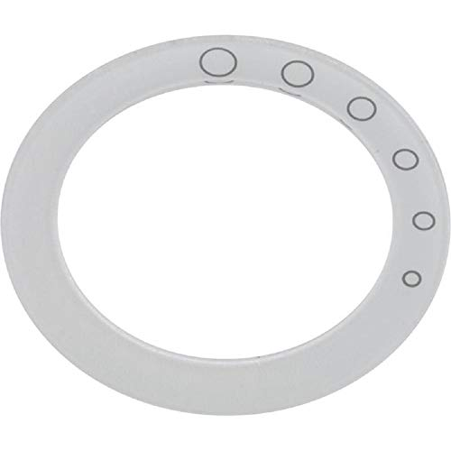 Jacuzzi 8263000 On/Off Graphic Snap Ring (Opaque) for Whirlpool Bath