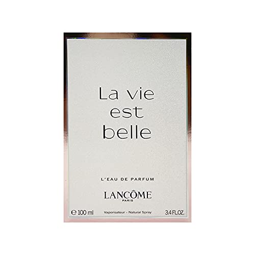 Lancome La Vie Est Belle for Women Eau de Parfum Spray, 3.4 Ounce