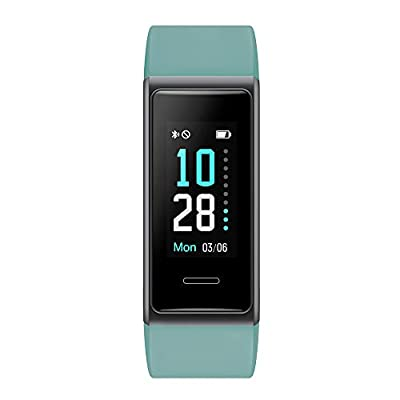 Willful Fitness Tracker 2020 New Version IP68 Waterproof, Fitness Watch Heart Rate Monitor with Calories/Step Counter Sleep Tracker Stopwatch Health Tracker Fit Watch for Men Women Kids (Green)