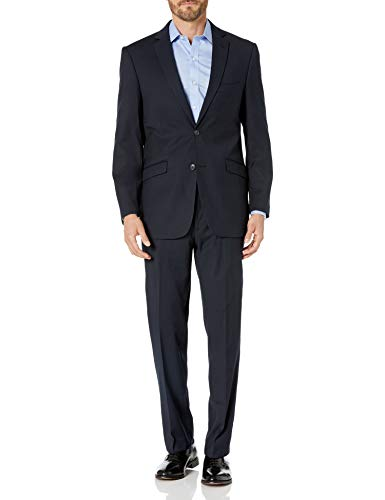 Forum Novelties Men's Skeleton Suit Formal Attire with Jacket and Pants, Black/White L