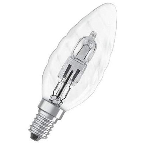 Osram Classic BW Halogen-Lampe, E14-Sockel, dimmbar, 30 Watt - Ersatz für 40 Watt, Warmweiß - 2700K