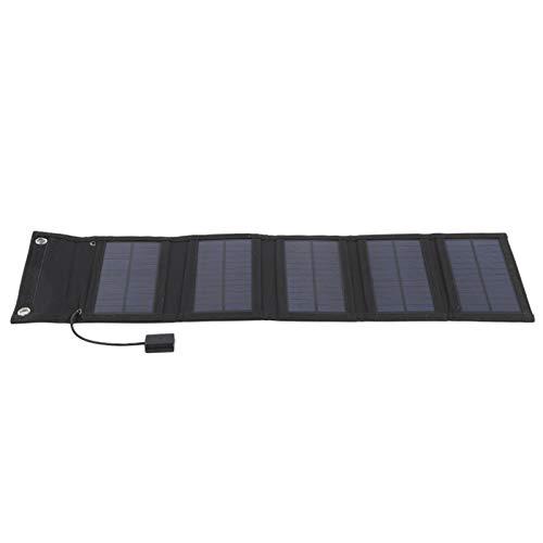 Mothinessto Bolsa Solar Panel Solar Panel Solar monocristalino con concentrador 10 en 1 para cámaras Digitales de 5 V Adecuado para tabletas para Consolas de Juegos portátiles