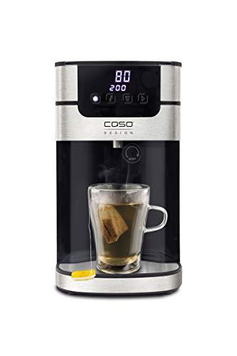 CASO HW 1000 Heißwasserspender – 100°C heißes Wasser innerhalb von Sekunden, 40°C-100°C, perfekt für Tee & Babynahrung, Energiesparender wie Wasserkocher, Wassertank 4 Liter, inkl. Wasserfilter