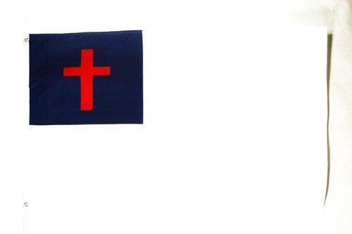 AZ FLAG Bandera de la RELIGIÓN Cristiana 90x60cm - Bandera Cristiana 60 x 90 cm