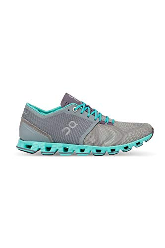 On Running Damen Laufschuh Cloud X Neutralschuh (36, Grey/Atlantis)