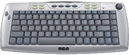 RCA Scenium Multimedia Projection Tv Wireless Keyboard w/ Built-in Tv Control for Rca KBR755TA1