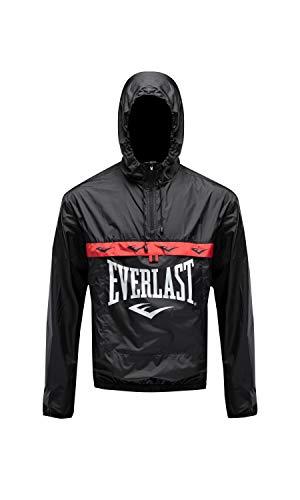 Everlast Sport - Cortavientos para hombre, Hombre, Cortavientos, 789750-60, Negro, large