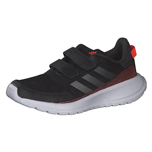 adidas Tensaur Run, Road Running Shoe, Core Black/Iron Metallic/Carbon, 33.5 EU