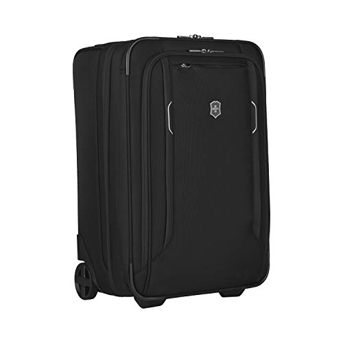 Victorinox Werks Traveler 6.0 Softside Upright Luggage, Black, Carry-On, Frequent Flyer (22')