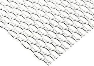 JumpingBolt Steel Expanded Metal, Galvanized, Flattened Sheet 1/2#16.050