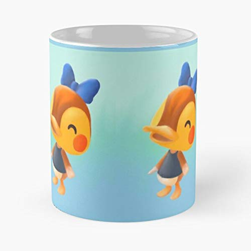 Generic Animal Fan Villager Crossing Molly Duck Gaming Switch Art Character Best 11 oz Kaffeebecher - Nespresso Tassen Kaffee Motive