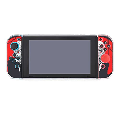 Free brand Hunter X Hunter Protective Case for Nintendo Switch, Split Five-Piece Switch Game Console Protective Shell (2 Handle Covers, 2 Handle Bottom Shells, 1 Main Body Rear Shell)