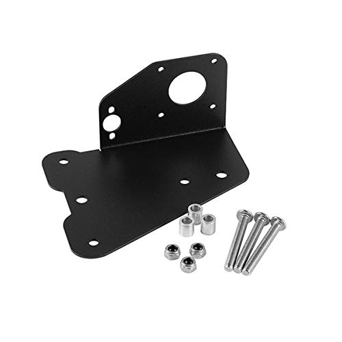 Toaiot Ender 3 Parts Dual Extruder Dual Z Axis Upgrade Plate Kit Aluminum Dual Extrusion Mount Compatible with 3D Printer Ender 3 Pro CR10 CR10S