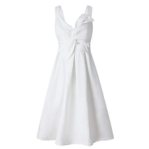 Vestido de boda largo, Tamaño fresco noche de las mujeres sin mangas...