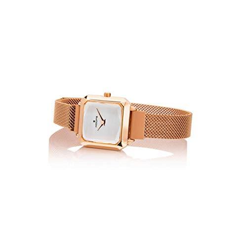Orologio Hoops Carr? Gold bianco 2621L-RG02-65, UNI