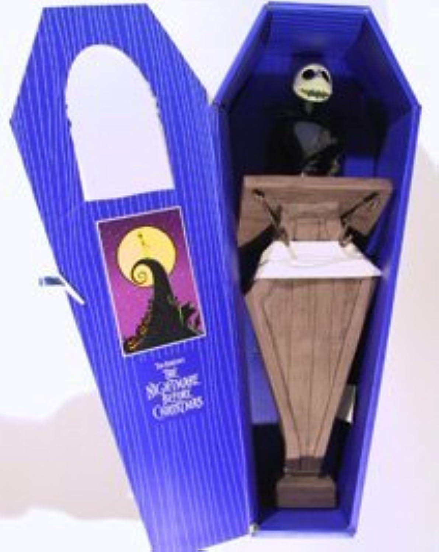 Precio al por mayor y calidad confiable. Nightmare Before Christmas Christmas Christmas Jack Skellington Doll at Podium in azul Coffin by Jun Planning  hasta 42% de descuento