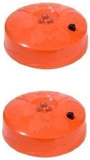 2-Pack Halloween Pumpkin Strobe Light LED 3 Lite Strobe Battery Operated