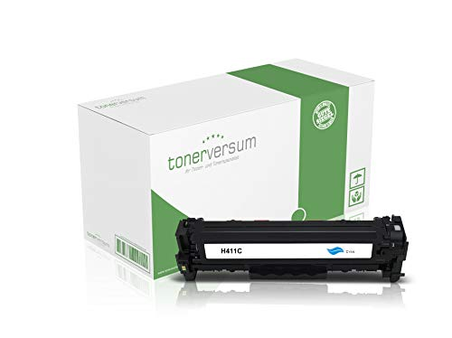 Toner kompatibel zu HP CF411X 410X Cyan für Color Laserjet Pro M452 M452dn M452nw MFP M477fdw M477fnw M377dw Laserdrucker CF411A