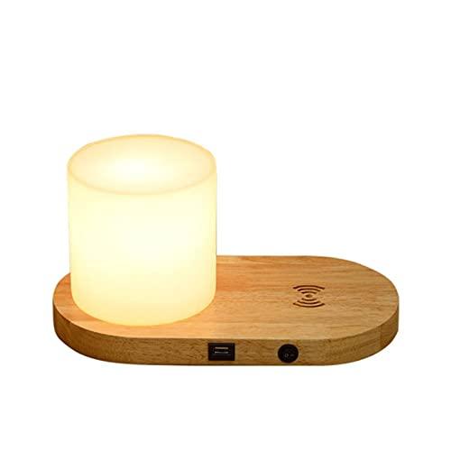 Lámparas de Mesa Lámpara de escritorio con USB Puertos de carga y lámpara de lectura de la lámpara de la lámpara de lectura de la noche de la noche de carga para la oficina del dormitorio Iluminación