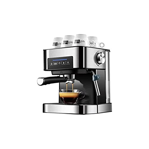 HMBB Coffee redskap kaffekokare Bänkskiva Espressomaskin Espressomaskin hem automatisk liten espresso kruka full halvautomatiska krans sovsal ånga mjölkskum