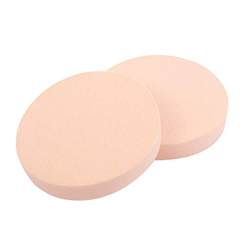 Lurrose 12pcs Facial Sponges Puff Skin Professional Round Square Dry and Wet Soft Cosmetic Puff Powder Puff for Beauty Makeup