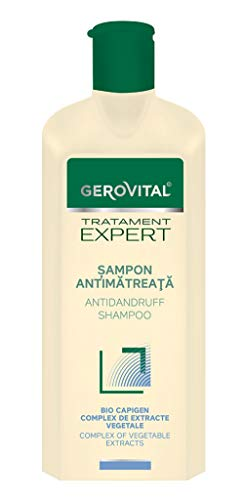 Gerovital Tratament Expert, CHAMPÚ ANTICASPA, Cuidado del cabello anti-caspa, 400 ml