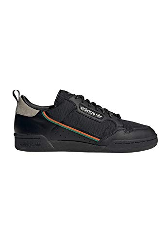 adidas Continental 80 Calzado Core Black/Orange
