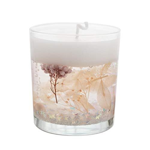 Qinlee Candle Duftkerzen Aromatherapeutische Kerzen Sojawachs Aromatherapie Aroma Kerzen Aromatherapie für Valentinstag Geburtstag Hochzeiten mit Ewige Blume