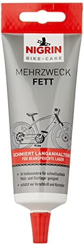 NIGRIN BIKE-CARE Mehrzweck-Fett | 100 g Tube | Schmierfett für Fahrrad | auch für Hobby und Werkstatt | Harz- und Silikonfrei |