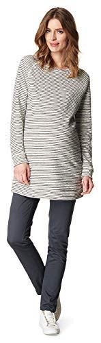 ESPRIT Maternity Damska bluza ciążowa wielokolorowa wielokolorowy (szary melanż 008). XL