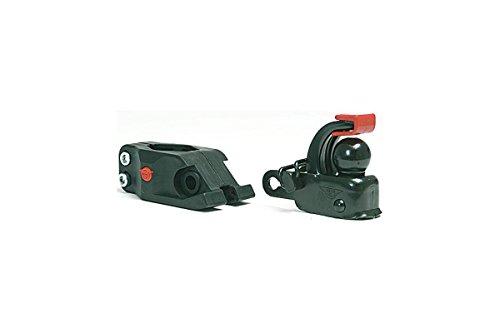 Hebie Unisex– Erwachsene Anhängerkupplung-2067006000 Anhängerkupplung Set, schwarz, One Size