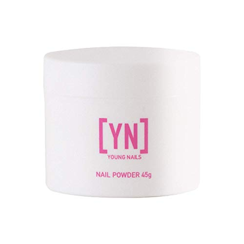 Young Nails Acrylic Core Powder, Clear, 45 Gram