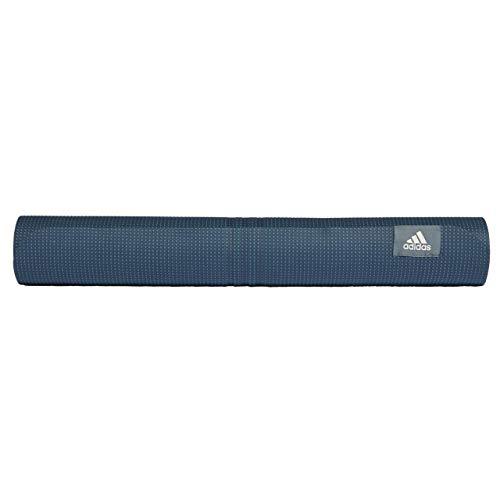 Adidas Yoga-Matte, für Erwachsene, Unisex, mehrfarbig (AZULEG/ALUMIN/ALUMIN), Einheitsgröße