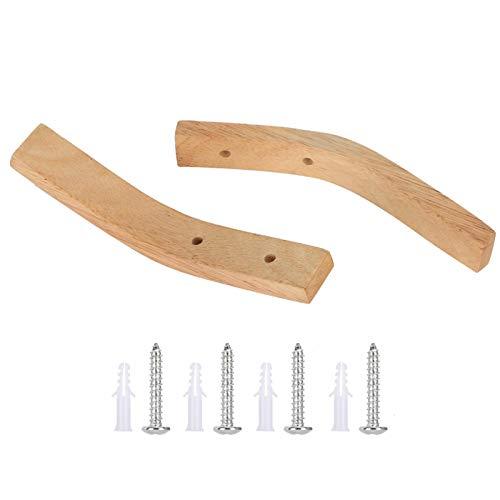 Ganchos de madera Percha de pared Ganchos de madera Ganchos Sombrero para abrigo de llaves