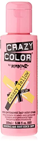 Crazy Color by Renbow 49 Canary Yellow 100 ml