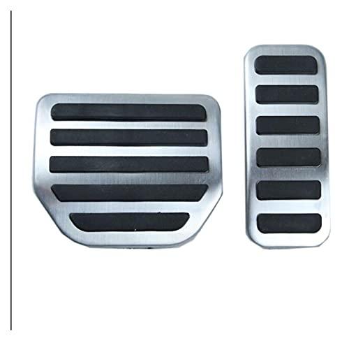 RJJX Ajuste para la Gama de terrenos Rover Sport Discovery 3 4 LR3 LR4 Accelerator Gas Pedo de Gas Pedal Modificado Pedal Refit Decorar Accesorio (Color Name : 2pcs)