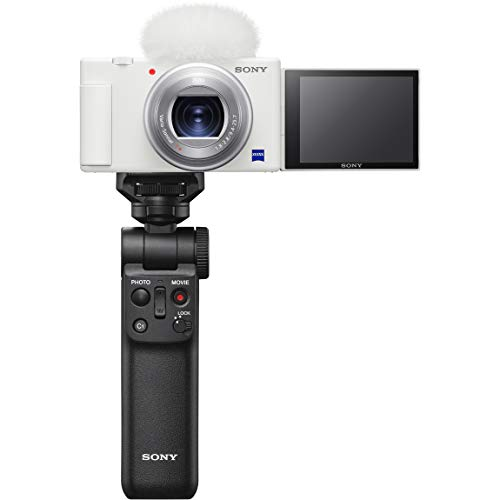 ソニー Video Blog用カメラ シューティンググリップキット VLOGCAM ZV-1GWC ホワイト