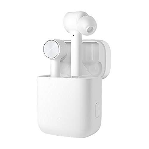 Xiaomi Mi True Wireless Earphones Bluetooth In-Ear Kopfhöhrer für iOS/Android (ENC Noise Cancellation, Freisprechfunktion, Musiksteuerung, Sprachassistent, Aufbewarungsbox mit Ladefunktion) Weiß