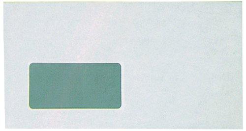 Preisvergleich Produktbild 5 Star Briefumschläge DL skl weiß mit Fenster Inh.1000