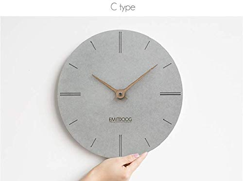 HDR 'Wall-Clock Series Silence Modern Wall Clock Perfect for...