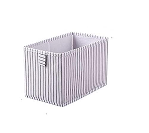 HJCSMM Caja de Almacenamiento de Ropa Interior Plegable, Ropa no Tejida para el hogar,contenedor de Acabado de cajón de Armario Que Ahorra Espacio