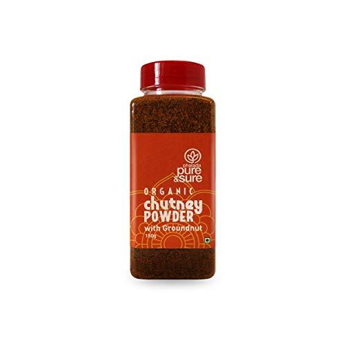 Pure & Sure Organic Chutney Powder Channa Dal, 150 g