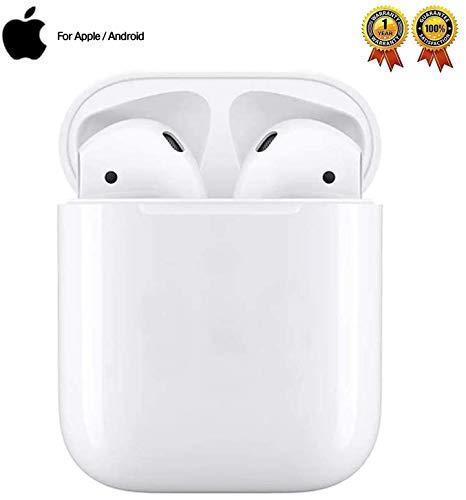 Bluetooth-Kopfhörer 5.0,Kabellose Kopfhörer IPX7 wasserdichte,Noise-Cancelling-Kopfhörer,Geräuschisolierung,mit 24H Ladekästchen und Mikrofon für Android/iPhone/Samsung/Apple AirPods Pro